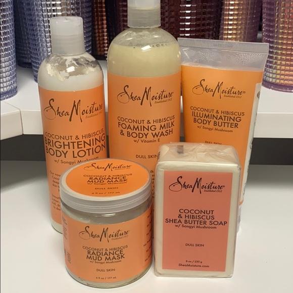 Shea Moisture Body Care Set - Coconut & Hibiscus